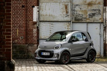 Smart Fortwo Electric Coupe 60kW EQ Exclusive 17kWh 2dr Auto [22kWCh]